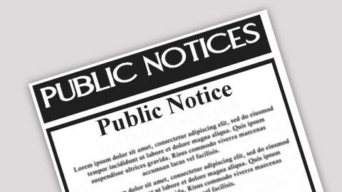 Public Notices & Decisions