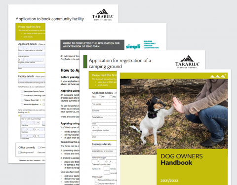 Forms & Brochures