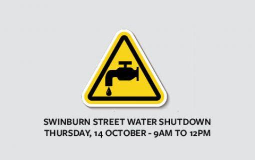 Temporary water shutdown Swinburn Street - Dannevirke