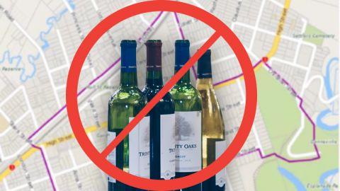 Liquor Ban Areas
