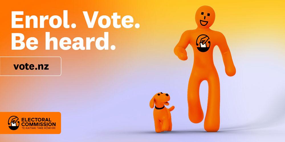 Enrol. Vote. Be heard.